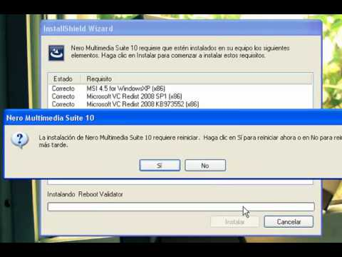 Descargar e instalar Nero Multimedia Suite 10 + serial + full