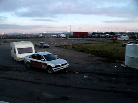 Caravan Demolition Derby, Nutts Corner, 30/01/11