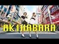АКИХАБАРА, ЯПОНИЯ  Walking around Akihabara, Japan  [HD].1080p