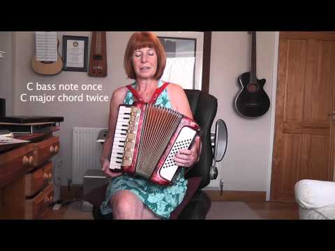Piano accordion video 4 learning to play