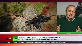 'Europe doesn't need to be defended' – political commentator on new EU defense bloc - RUSSIATODAY