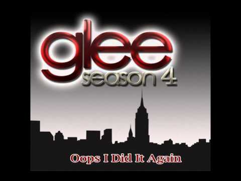 Oops I Did It Again - Glee Cast Version Season 4 Full HD