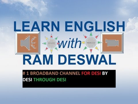 English with Ram Deswal/ Use of is/am/are/was/were/has/have/had