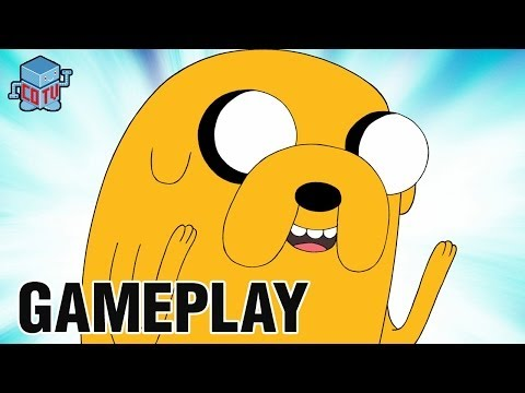 Adventure Time Explore The Dungeon JAKE Gameplay