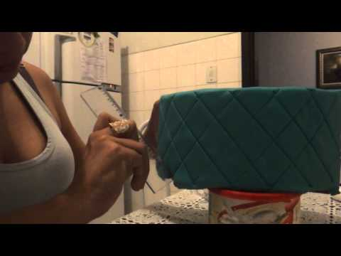 Passo a Passo Efeito Capitonê na Pasta Americana- Parte 2