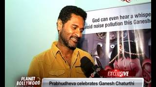 Prabhudeva supports 'Times Green Ganesha' cause | Bollywood News