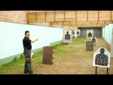 II Concurso de Tiro Defensivo con Revolver  38 SPL Parte I
