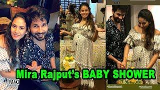 INSIDE PICS : Mira Rajput's BABY SHOWER | The Couple Looks Happy - IANSLIVE