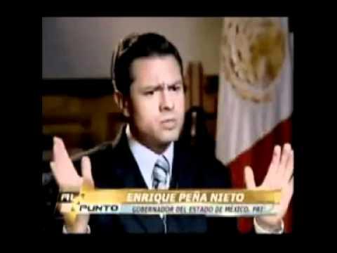 A Peña Nieto se le olvida de que murio su esposa