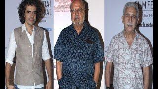 Imtiaz Ali, Naseeruddin Shah at MAMI film festival - IANSINDIA