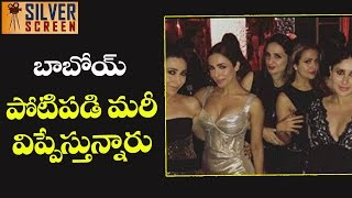 Bollywood Acterss Cleavage Show At Manish Malhotra Birth Day Party | Silver Screen