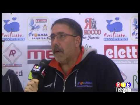 26 10 14 Interviste Meta Formia Bk   Anzio Basket Club