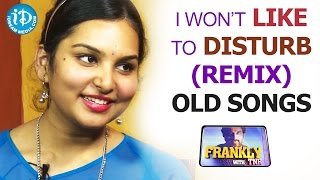 I Won't Like To Disturb(Remix) Old Songs - Singer Shruthi || Talking Movies With iDream - IDREAMMOVIES