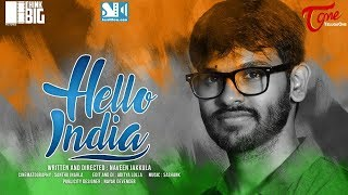 HELLO INDIA | Telugu Short Film 2017 | Directed by Naveen Jakkula | Independence Day Special - TELUGUONE