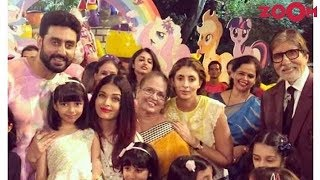Bachchans celebrated Aaradhya's 7th birthday and more | Bollywood News - ZOOMDEKHO