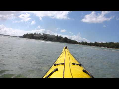 03.Kayak Paddle-Port Hacking-25.2.14