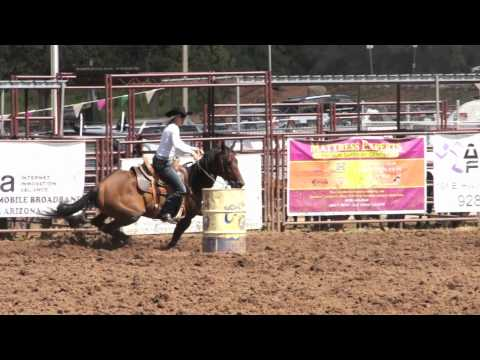 Pro Rodeo Barrel Racing