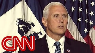 Trump on Pence: I don't question his loyalty at all - CNN