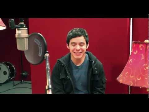 David Archuleta talks about his upcoming BEGIN album and more. Part 2.