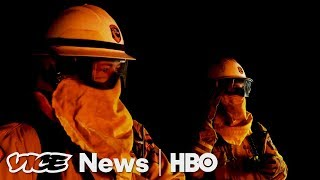 Front Lines Of California's Fires & Capturing Carbon: VICE News Tonight Full Episode (HBO) - VICENEWS