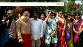 Serilingampally GHMC Officers Conducted Swachh Survekshan | Sankranti Celebrations | CVR NEWS - CVRNEWSOFFICIAL