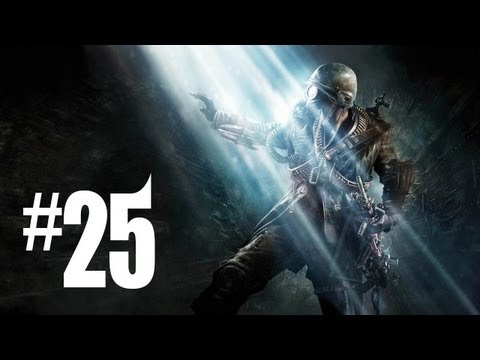 Metro Last Light Gameplay Walkthrough - Part 25 - LEZNITSKY!! (Xbox 360/PS3/PC HD)