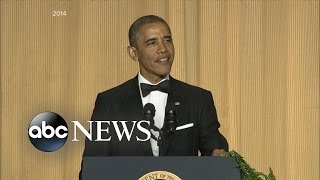Obama's Final White House Correspondents' Dinner - ABCNEWS