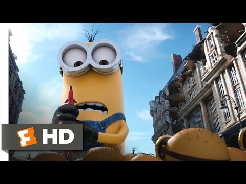 Minions (9/10) Movie CLIP - Kevin Saves the Day (2015) HD