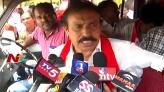 CPI Leaders Protest in Kadapa over Farmer Problems || NTV - NTVTELUGUHD