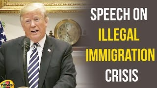 Trump Latest Speech on the Illegal Immigration Crisis | Donald Trump Latest News | Mango News - MANGONEWS