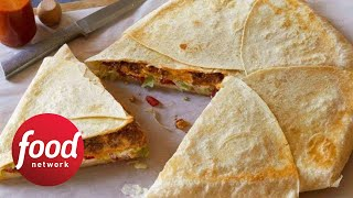 Giant Crunch Taco Wrap | Food Network - FOODNETWORKTV