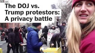 The DOJ wants personal data of visitors of this Trump protestors website - WASHINGTONPOST