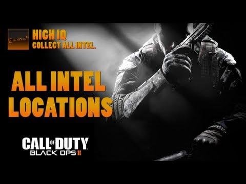 Call of Duty: Black Ops 2 - All Intel Locations (High IQ Trophy / Achievement Guide)