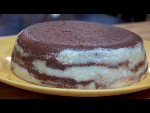 حلاوة السميد بالكاكاو وجوز الهند - سهلة وسريعة (Semolina Dessert (İrmik Helva