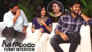 Geetha Govindam Team Funny Interview | Vijay Deverakonda | Rashmika Mandanna | Parasuram | TFPC - TFPC