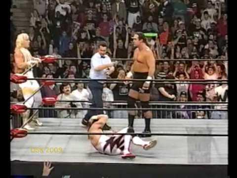 Eddie Guerrero & Jeff Jarrett Vs Mongo & Arn Anderson w Debra McMichael -20/1/97