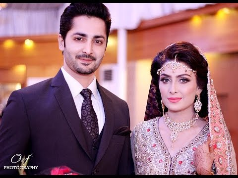 Aiza Khan and Danish Taimoor Walima Pictures