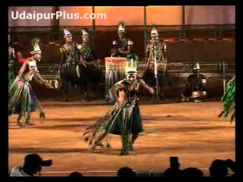 Siddhi Dhamal Folk Dance of Gujarat, African tribal dance.