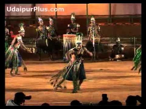 Siddhi Dhamal Folk Dance of Gujarat, African tribal dance.