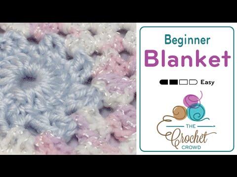 Crochet Sugar Pop Baby Afghan Tutorial