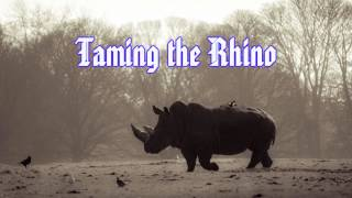 Royalty Free Taming the Rhino:Taming the Rhino