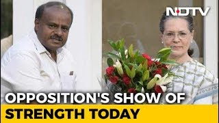 United Colours Of Opposition As Kumaraswamy Is Sworn In Today - NDTV