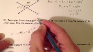 Angle Pair Relationships Youtube