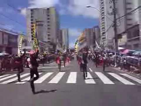Banda de Percussão Ministro Marco Maciel 2013 na Barão de Maruim