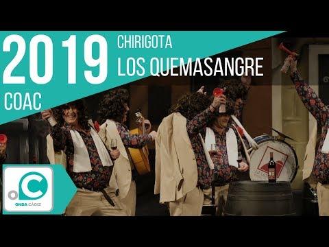 Sesión de Cuartos de final, la agrupación Los quemasangre actúa hoy en la modalidad de Chirigotas.
