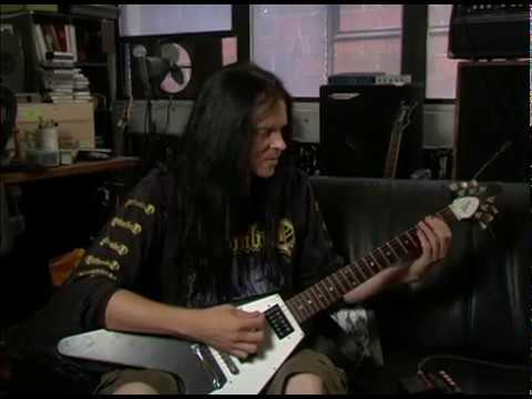 Daniel Ekeroth Demonstrates Swedish Death Metal Guitar Sound