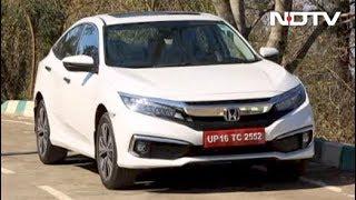 2019 Honda Civic Review And Nitin Gadkari Awarded Global NCAP Innovation Award - NDTV