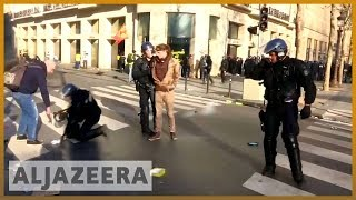 🇫🇷 'Yellow vest' rioting in Paris as anti-Macron protests persist | Al Jazeera English - ALJAZEERAENGLISH