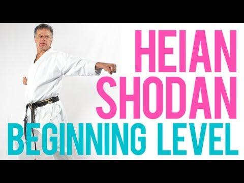 Heian Shodan - Shotokan Kata by Soon Pretorius