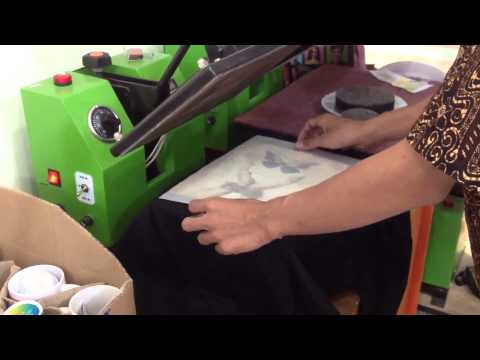 Cara Sablon Digital Menggunakan Transfer Paper Untuk Kaos Warna Gelap
